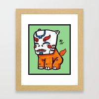 keeper of the flame Framed Art Print