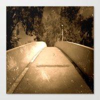 Bridge To Adventure Canvas Print