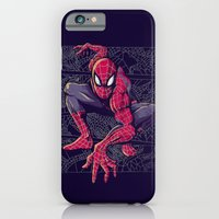 iPhone & iPod Case featuring Spider Web by Alex Solis