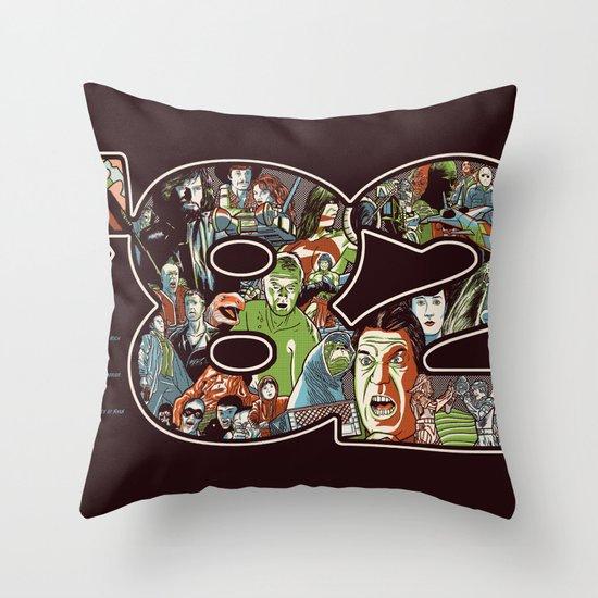 '82 Throw Pillow