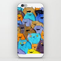 The Cats Of Verdun iPhone & iPod Skin
