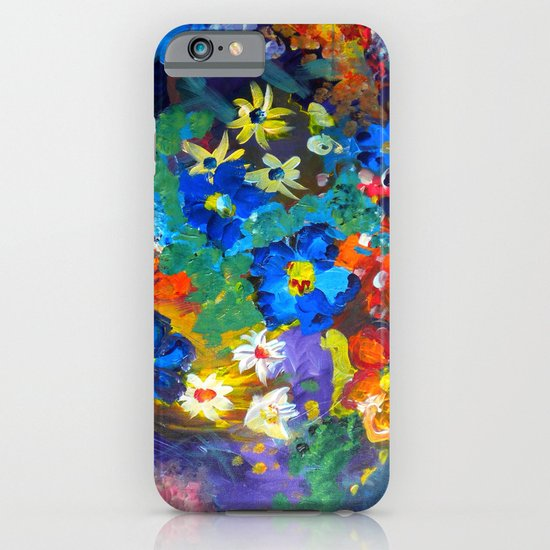Flora Azul iPhone & iPod Case