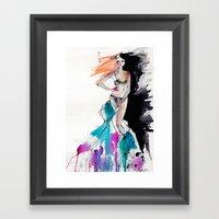 Strip Framed Art Print