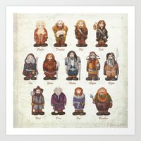 Dwarves  Art Print