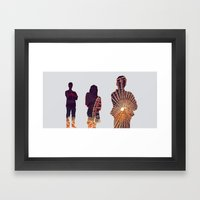 Ferris Framed Art Print