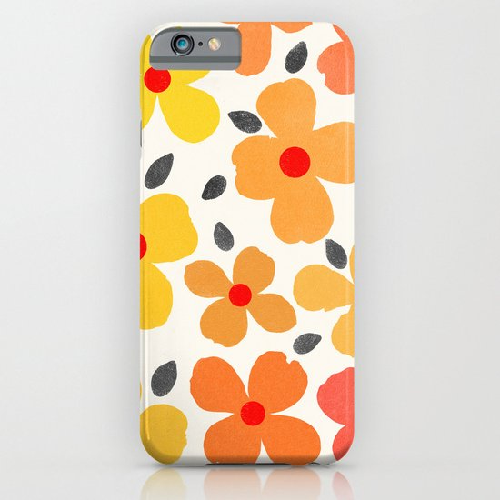Dogwood Saffron iPhone & iPod Case