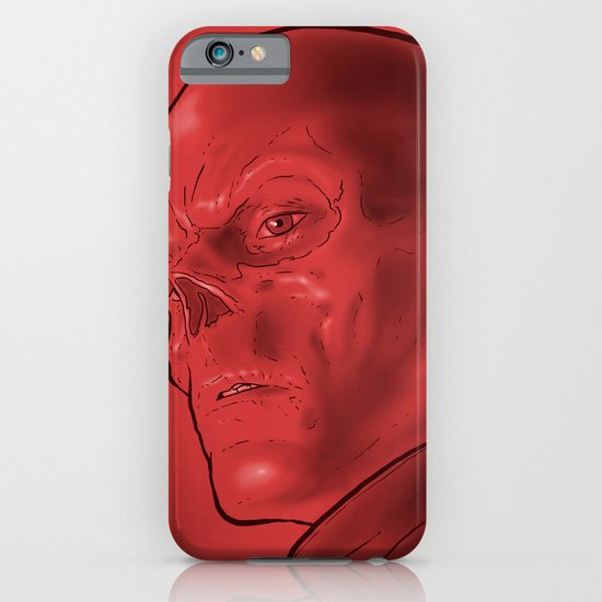 The Red Skull iPhone & iPod Case