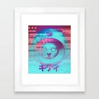 Kitty Of The Rising Sun Framed Art Print