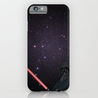 darth vader iPhone & iPod Cases featuring Darth Vader  by Rebecca Bear