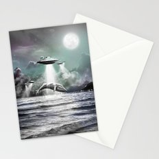 Whaling UFO Stationery Cards