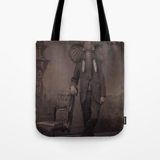 Elephant Man Tote Bag