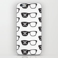 Hipster Pirate iPhone & iPod Skin
