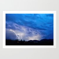 2015 Arizona Monsoon_2 Art Print