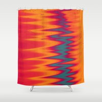 Solarized Shower Curtain