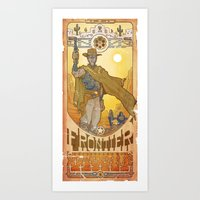 Frontier Legacy Art Print