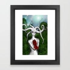 MoonBlood Framed Art Print