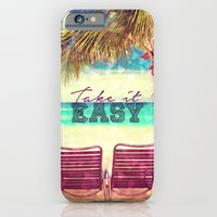 iPhone & iPod Case featuring Take it Easy II - for iphone by Simone Morana Cyla