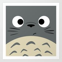 Dubiously Troll ~ My Nei… Art Print