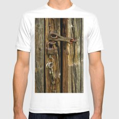 Unlocked Mens Fitted Tee White SMALL