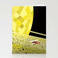 Lost In Time and Space Stationery Cards