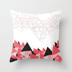 Triangle U185 Throw Pillow