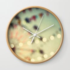 carnival dreams Wall Clock
