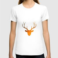 DH2 Womens Fitted Tee White SMALL