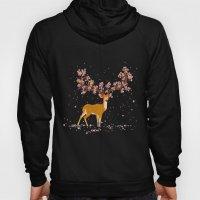 Blooming stag Hoody