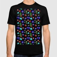 Cosmic Adventure Mens Fitted Tee Black SMALL