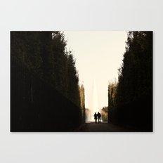 Versailles romance Canvas Print