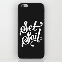 Set Sail iPhone & iPod Skin