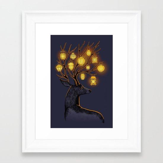 Dream Guide Framed Art Print