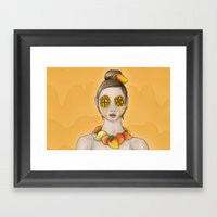 Mango Summer Framed Art Print