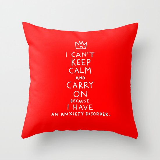 i broke an promise to myself to never make one of these stupid posters Throw Pillow