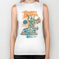 BOUNTY HUNTER Biker Tank