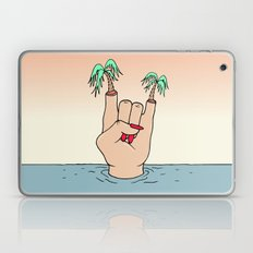 ROCK THE BEACH Laptop & iPad Skin