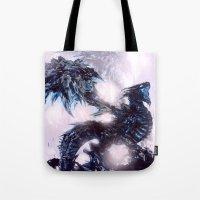 Coldfire Dragon Tote Bag