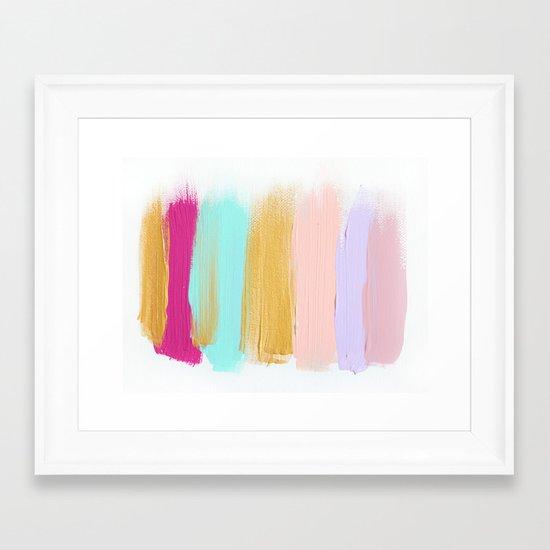Colors 63 Framed Art Print