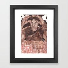 Riddick Framed Art Print