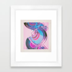 BUBBLEGOM (everyday 11-02.15) Framed Art Print