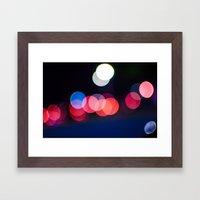 bokeh 1 Framed Art Print