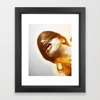 La Femme Phoenix Framed Art Print