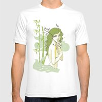 The Strong And The Beaut… Mens Fitted Tee White SMALL