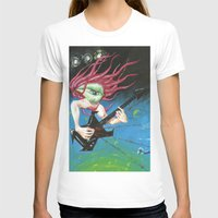 150213 Womens Fitted Tee White SMALL