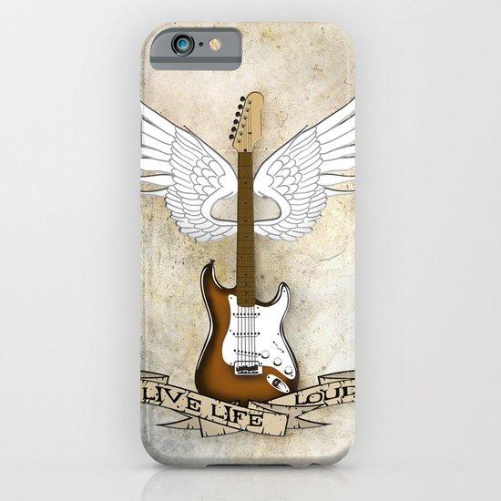 Live Life Loud iPhone & iPod Case