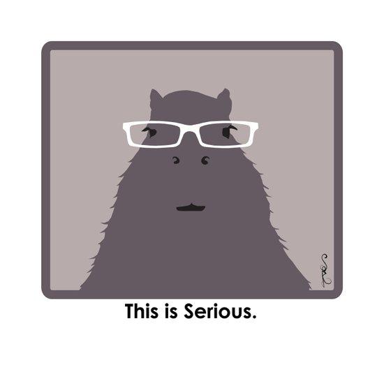 Professor Capybara I Canvas Print