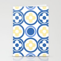 Floor Tile 7 Stationery Cards