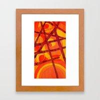 Sorting Framed Art Print