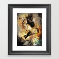 The Last Geisha Framed Art Print