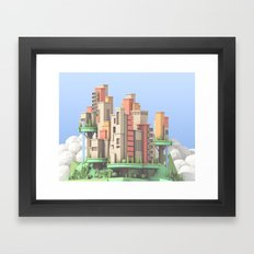 Floating City 02 Framed Art Print